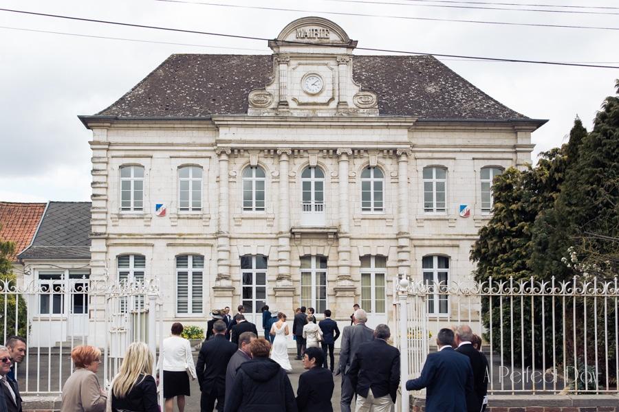 Mariage de Sophie & Olivier - La mairie de Maroeuil