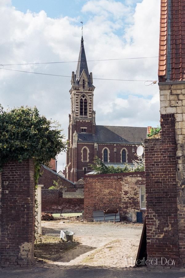 Mariage de Sophie & Olivier - L'église de Maroeuil
