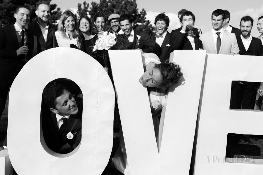 Mariage de Sophie & Olivier - les photos de groupe en extérieur