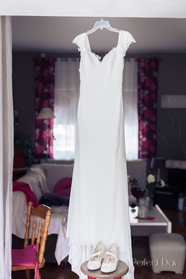 Mariage de Sophie & Olivier - La robe de la mariée
