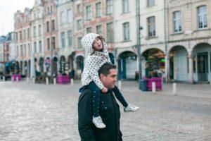 Photo de Famille à Arras, place des Héros et Grand'Place