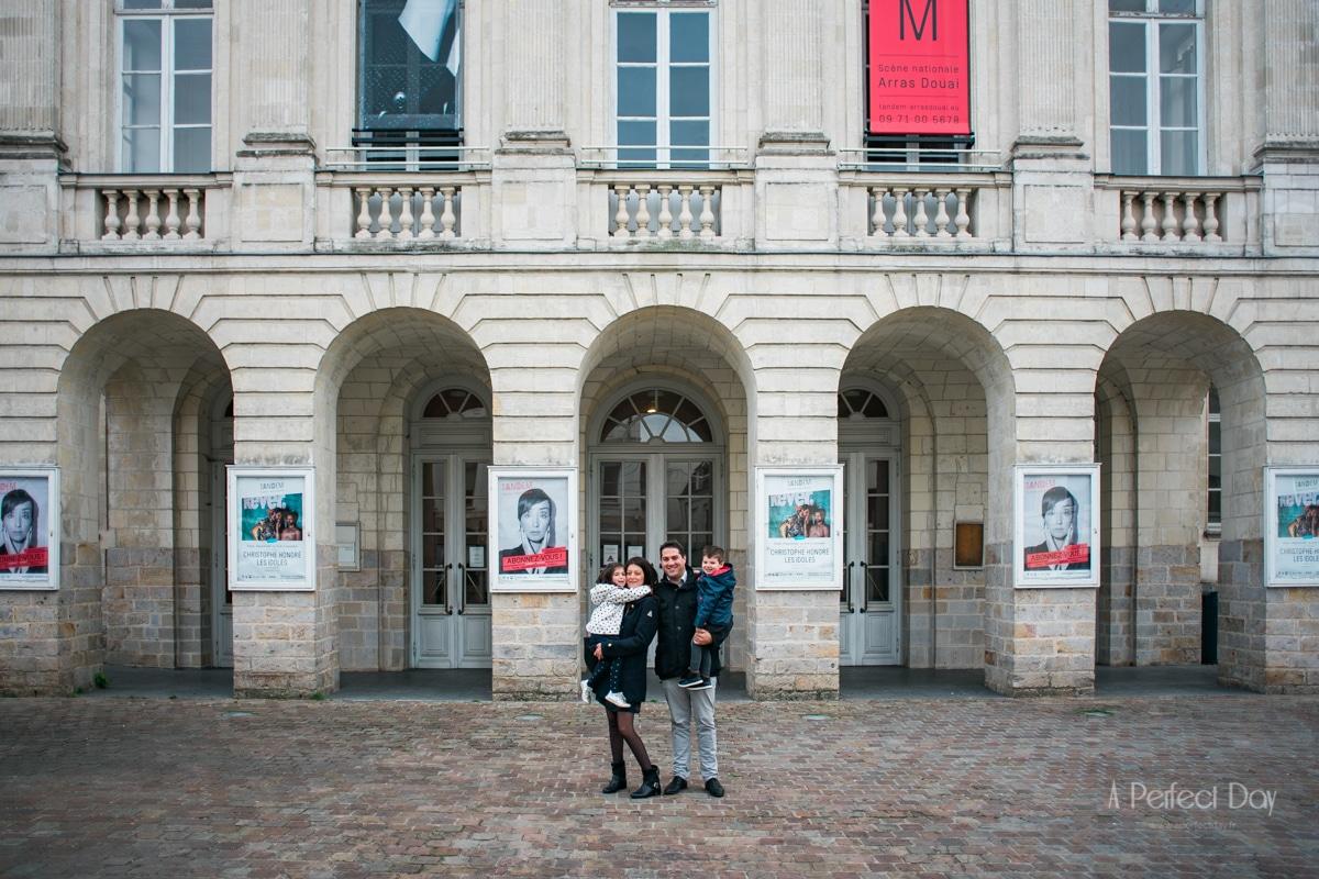 Photo de Famille au théâtre d'Arras,