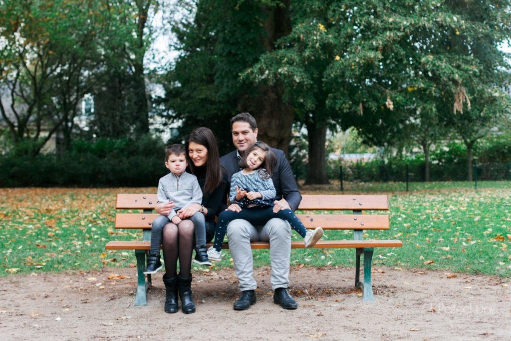 Séance photo famille à Arras, parc du musée des Beaux-Arts