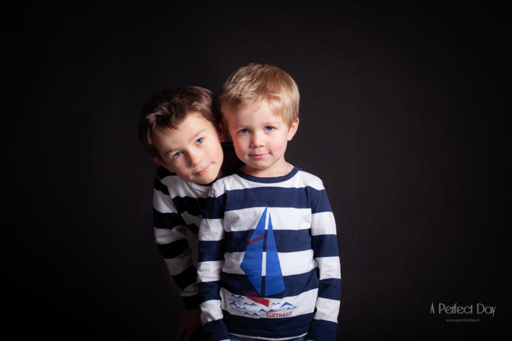 portrait studio de garçons