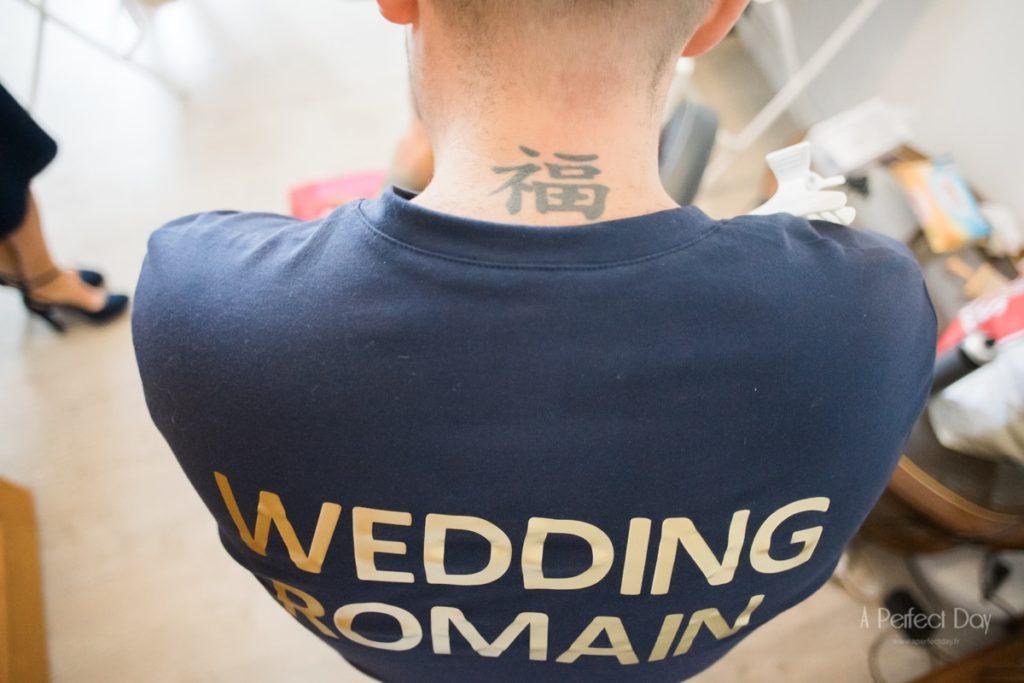 Les préparatifs de la mariée avant la cérémonie