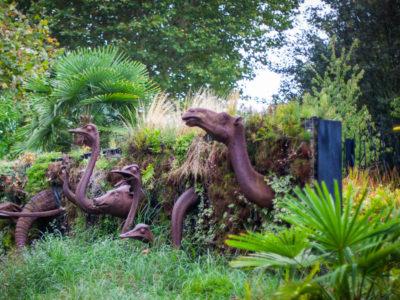 séance photo famille au jardin des géants à Lille
