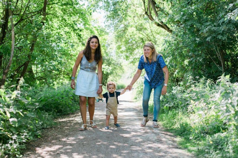 Shooting famille au relais nature du parc de la Deule