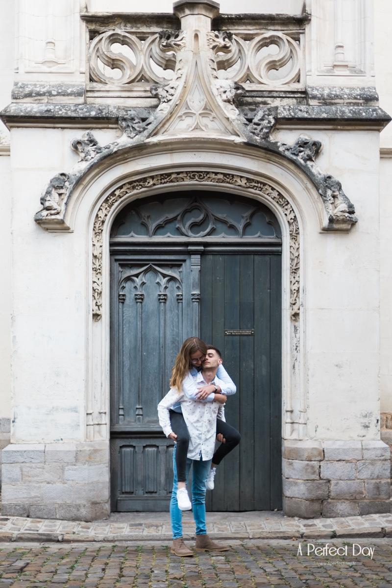 Photo de deux amoureux à Lille