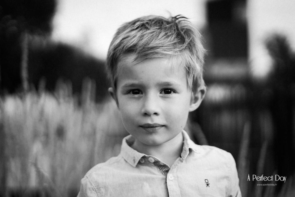 portrait d'enfant au jardin des géants à Lille