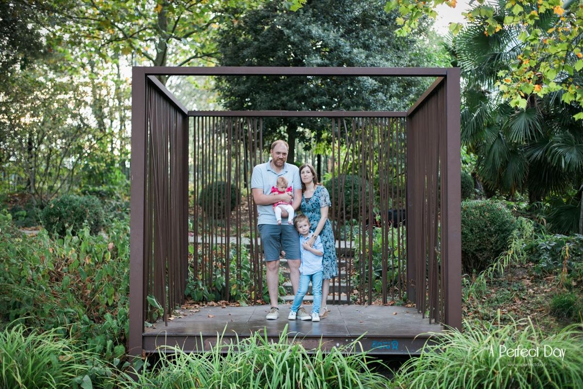un shooting famille au jardin des géants à Lille