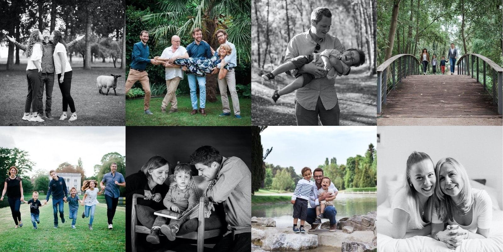 carte cadeau pour une séance photo famille portrait