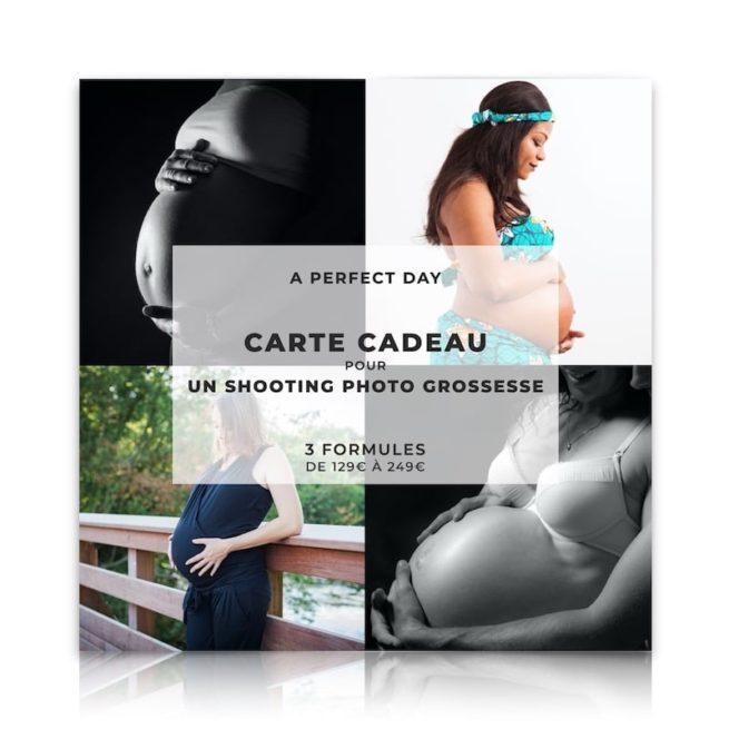 carte cadeau pour un shooting photo grossesse
