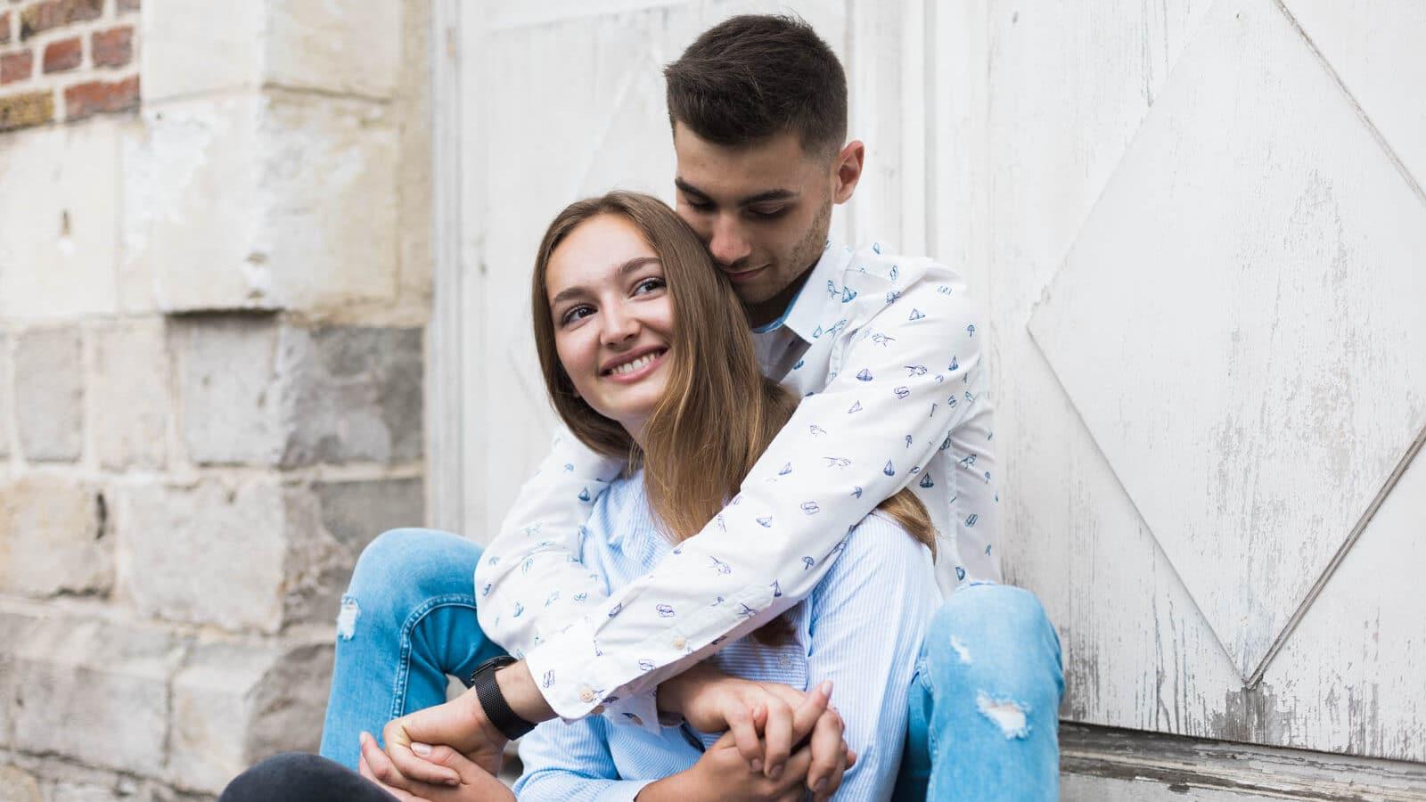 Un shooting photo couple à Lille